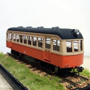 鹿島参宮鉄道キハ201の模型