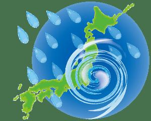 新型コロナウイルスの感染拡大に加え台風の進路も心配