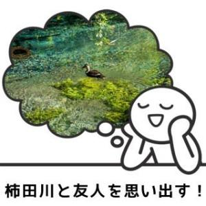 柿田川湧水の映像をみて、むかし三島駅から歩いて行った友人を思い出す