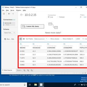 Tableau Desktopを用いたデータの可視化(2) - Oracle Database接続