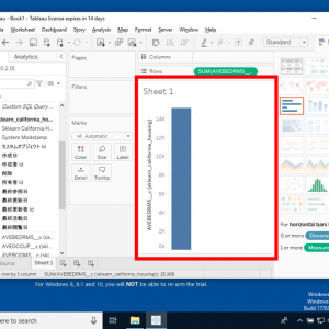 Tableau Desktopを用いたデータの可視化(3) - Salesforce接続・データソースのグラフ化