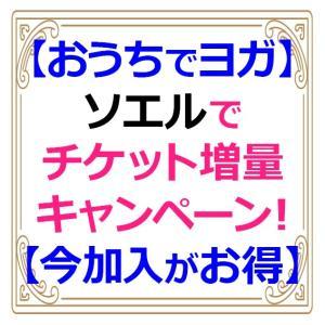 【おうちでヨガ】オンラインフィットネス・SOELU(ソエル)でチケット増量キャンペーン中!【早期加入がお得】