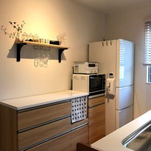 建売あるある①:キッチン背面収納が付いていません