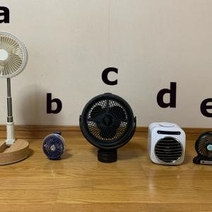 扇風機 どれが一番涼しいか?