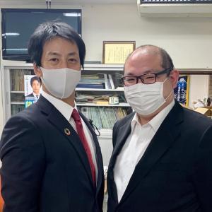 関政幸千葉県議会議員と意見交換