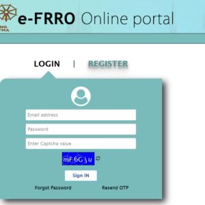 外国人登録(e-FRRO)完了@デリー