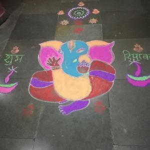 Diwali(ディワリ)のお祝い準備