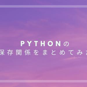 Pythonでファイル処理(csv・sqlite)をまとめてみた
