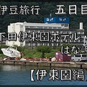 伊豆旅行 下田伊東園ホテルはな岬 五日目
