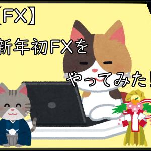 【FX】新年初FXをやってみた!