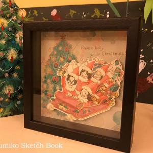 オーダーありがとうございました『クリスマスイラスト☆似顔絵サンタさん』