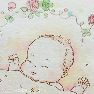 赤ちゃんの絵☆その2