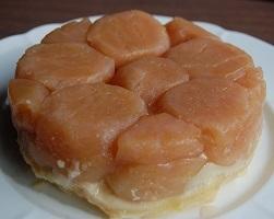 リンゴのフランス伝統お菓子!タルトタタンが焼きあがりました
