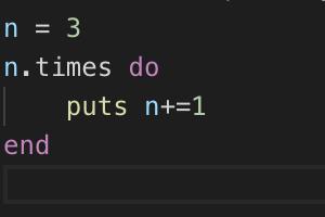 loop, times , uptoの書き方(Rubyで繰り返し処理 )