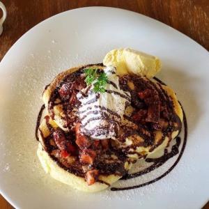 インスタ映え必至!円山の紫陽花珈琲でパンケーキを食す!