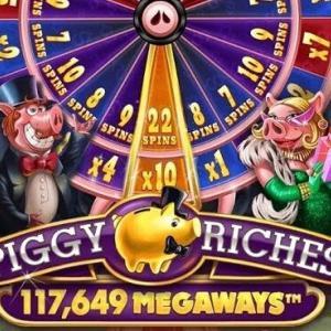 【Piggy Riches Megaways】豚のFS重すぎん?ボナンザ以上か?