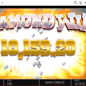 【DIAMONMINE】ダイアモンドマインをBUYせずに回し続けた結果www