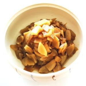 新生姜を煮る