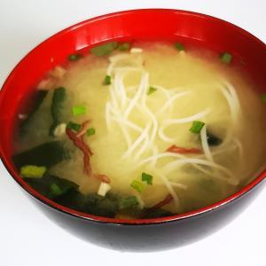 素麺の味噌汁
