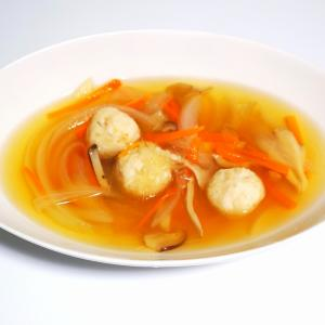 えび団子と春雨のスープ