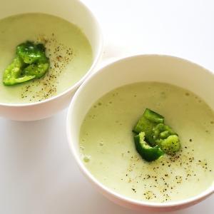 キュウリとヨーグルトのスープ