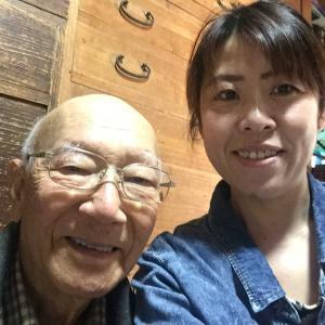 92歳のおじいちゃん♪