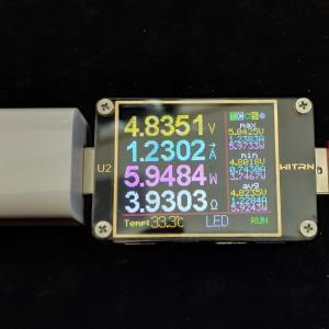 ガジェオタ必需品、Type-C対応のおすすめUSB ワットチェッカー「DANIU WEB-U2」をレビュー!【USB PD テスター】