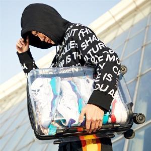 Xiaomi、中国のXiaomiストアにて透明スーツケースを発売