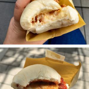 秋葉原駅から徒歩0分 アトレ横のコメダ製「やわらかシロコッペ」でひき肉系ふわふわコッペパンサンド2種を食べてみた。