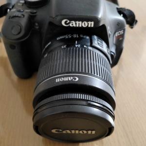 新しいカメラが来たよ