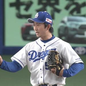 中日・藤嶋健人、東邦の後輩・石川昂弥の竜加入に「すごく嬉しい。友達感覚で来て」