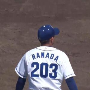 4年ぶり支配下登録の中日・濱田達郎は背番号『69』に決定!【背番号変更一覧】