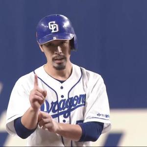 中日・阿部寿樹「最初から3位を目指してじゃなく…目指すところは優勝です」