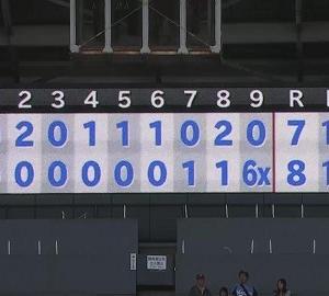 中日・福敬登投手の誕生日(6月16日) 試合前に田島慎二投手が誕生日会をセッティングし…
