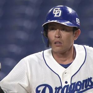 中日・遠藤一星選手、実は去年の開幕直前に骨折していた…「気合で乗り切った」