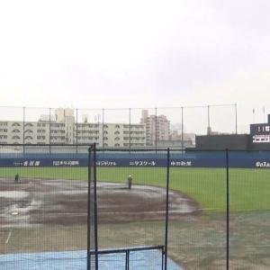 7月31日(金) ファーム公式戦「中日vs.広島」が雨天中止に…