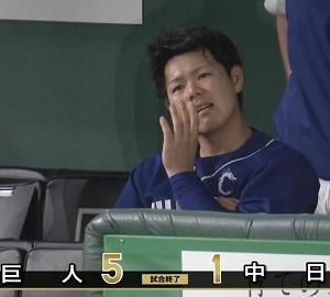 9月27日(日) 中日、1-5で敗戦… 今季の東京ドーム巨人戦ラストゲームは黒星…