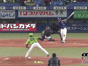 中日・福田永将、スタメン復帰戦で2ランホームラン含む3安打4打点の大暴れ!「良い緊張感を持って試合に入れました」【動画】