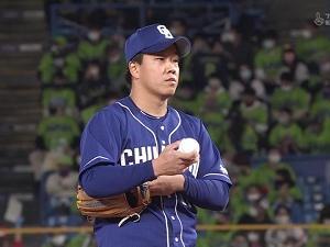 中日・柳裕也、7回途中無失点の好投で今季5勝目!「チームがいい雰囲気なので、それに乗っていけるようにしたいです」【投球結果】