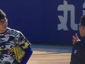中日・岡林勇希選手「(このピース)郡司さんに教えてもらったんですよー!」 松田亘哲投手「郡司は(自分の見せ方を)分かってますから」
