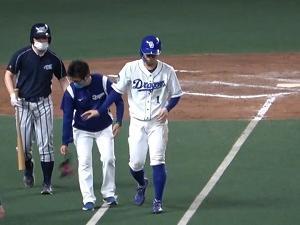 """中日・京田陽太、死球を受けたあとの""""ブチ切れ""""を反省「僕の気持ちのぶつけ方がいけなかったというところも大反省です」"""