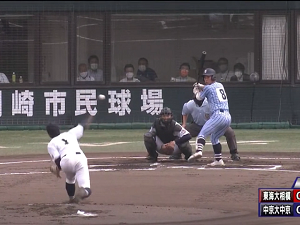 中京大中京・畔柳亨丞投手が集結したスカウトの前で150km/h!!! 中日・米村明チーフスカウト「球速も出ていたし、センバツで見た時のイメージ通り。順調で良かったです」【動画】
