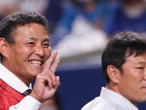 川上憲伸さん「なんと打席には視察に来てる井端侍コーチが打席に入ってくれました」