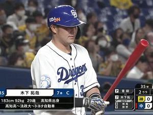オフに『青柳投手専用バット』を作っていた中日・木下拓哉捕手、驚きの効果が…?