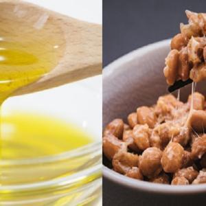 便秘解消に効果的なオリーブオイルと納豆、二つ合わせたらスゴイ!?