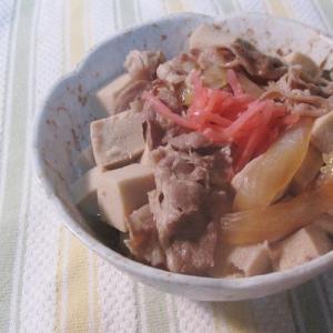 高野豆腐ダイエットというのがあります&簡単!高野豆腐と牛皿の煮物