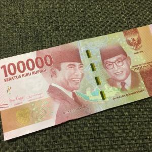 Jakartaでの、お財布事情