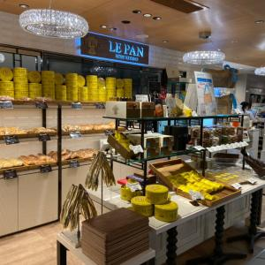 伊丹空港で、ル・パン神戸北野のパン購入 と ちょっと残念だった事