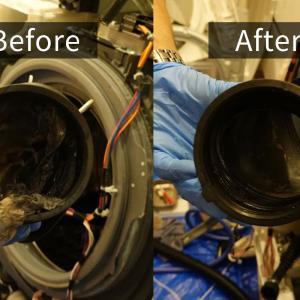 ドラム式洗濯機のクリーニングで、乾燥機能が復活