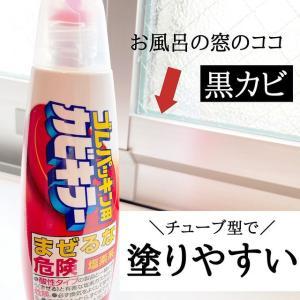 チューブ型で塗りやすい!ゴムパッキン用カビキラーをお風呂窓に使ってみた